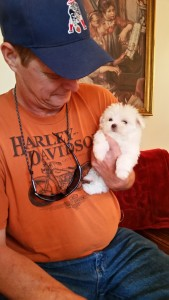 China & her dad, Tim Tolle